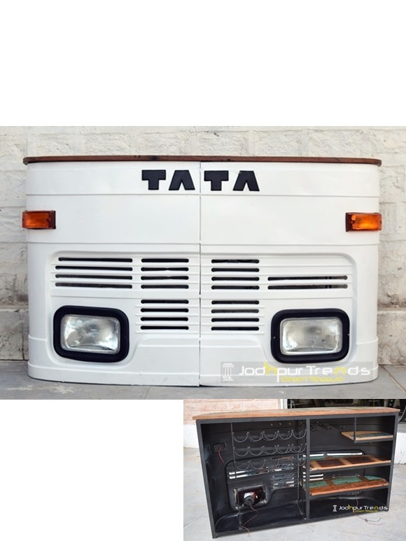truck bar cabinet, automobile furniture