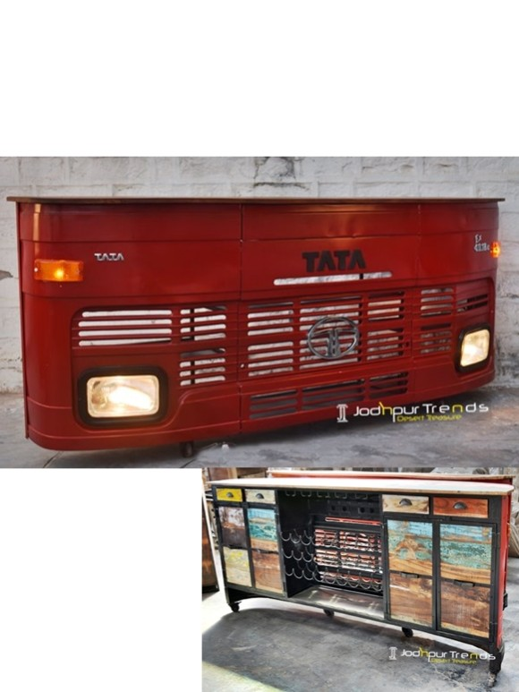 Tata Truck Bar Counter, Automobile Furniture
