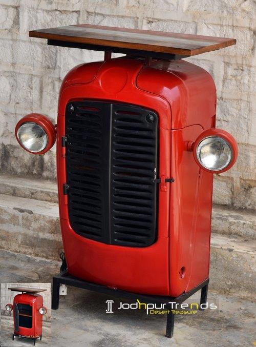 tractor console, ambassador sofa